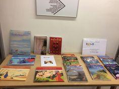 Durante el mes de febrero de 2018 en el Expositor de la planta baja, junto a las escaleras, ha estado expuesta la donación de libros de lectura fácil realizada por la Asociación Down Salamanca a la Biblioteca Casa de las Conchas.