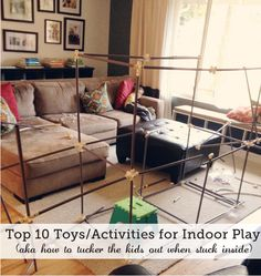 Modern Parents Messy Kids Lists Fort Magic As A Favorite Indoor Toy!