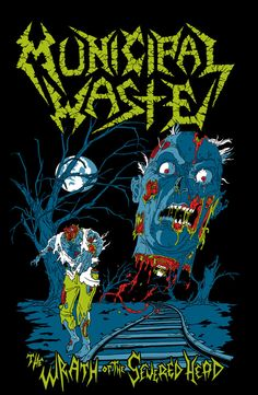 Municipal Waste designs on Behance
