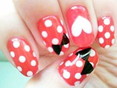 loving the dots and heart but the bows not so much.