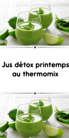 Spring detox juice with Thermomix a delicious dish for your main meal. Here is the Thermomix recipe Detox Cleanse Recipes, Detox Juice Cleanse, Health Smoothie Recipes, Health Cleanse, Smoothie Diet, Detox Juices, Body Cleanse, Healthy Smoothie, Detox Drinks