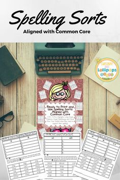 Another great resource for Spelling and spelling patterns.  Sort and write the words under specific categories that represent specific spelling patterns and Voila... correct spelling is