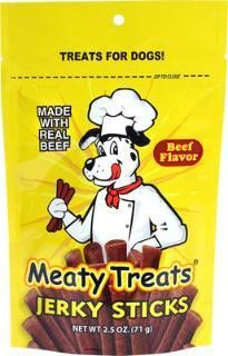 Which you like best? Triumph Meaty Tre...  Check it out here : http://www.allforourpets.com/products/triumph-meaty-treats-beef-jerky-sticks-8-2-5oz