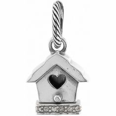 Luv Nest Birdhouse Charm  available at #Brighton #WinOurHearts