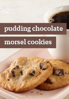 Pudding-Chocolate Morsel Cookies — A go-to chocolate chip cookie recipe is mandatory, and now you can toss out your old one. Moist and loaded with chunks of rich chocolate, these stay chewy even in the cookie jar.