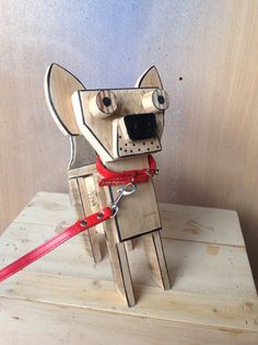 Hey, I found this really awesome Etsy listing at https://www.etsy.com/listing/228379150/pallet-pooch-wooden-dog-sculpture