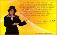 Cartão Mensagem  Cliente: Luciana Rondon Consultoria Empresarial  http://www.lucianarondon.com.br