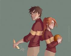 Harry and Ginny