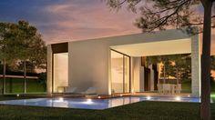 A stunning example of contemporary Mediterranean architecture. Designed by the prestigious Ramon Esteve Architectural Studio. In Moraira, Costa Blanca, Spain. http://www.casascostablanca.nl/properties/vrijstaande-villa-nieuwbouw/