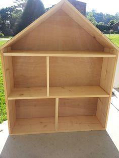 Simple Livin: DIY Barbie Doll House                                                                                                                                                                                 More