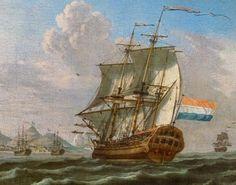 Dutch Fleet in Table Bay, 1762
