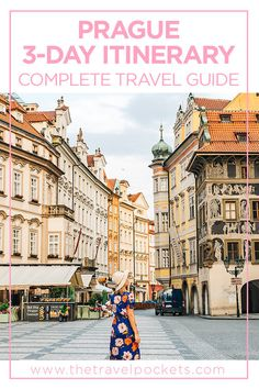 Prague 3-Day Itinerary #Prague #CzechRepublic