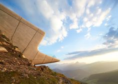 Zaha Hadid& mountain museum at the top of Alpine peak Mount Kronplatz is captured in these new images by British photography duo Hufton + Crow Arquitectos Zaha Hadid, Zaha Hadid Architects, Daniel Libeskind, Van Gogh Museum, Lake Michigan, Hanoi, Oslo, Ontario, Vancouver
