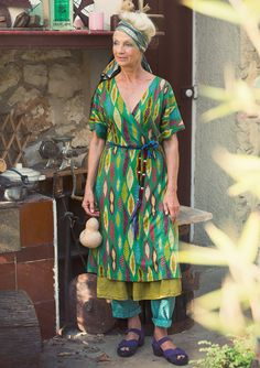 Masai lyocell/eco-cotton dress – Gudruns Lucky Day – GUDRUN SJÖDÉN – Webshop, mail order and boutiques | Colourful clothes and home textiles in natural materials.