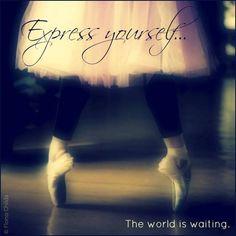 ツ Visit The Power of Happy website: http://thepowerofhappy.com/  Express yourself... The world is waiting.