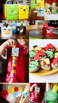 Let's Eat Cake - Angry birds