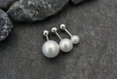 Pearl Cartilage Piercing Jewelry