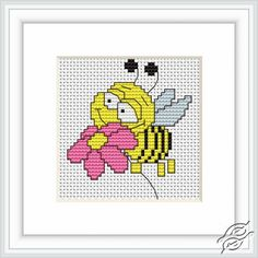 Bee - Cross Stitch Kits by Luca-S - B089                                                                                                                                                      More