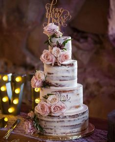 86 Likes, 2 Comments - Christine Sedley Fotografie (.- 86 Likes, 2 Comments – Christine Sedley Photography ( on I … – Wedding cake – - Floral Wedding Cakes, Wedding Cake Rustic, Beautiful Wedding Cakes, Wedding Cake Designs, Beautiful Cakes, Our Wedding, Dream Wedding, Wedding Weekend, Cake Wedding