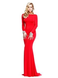 Tarik Ediz 92271 - Long sleeve Long Dress