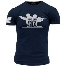 Walk Into Hell T-Shirt- Grunt Style Enlisted Nine Tee Shirt