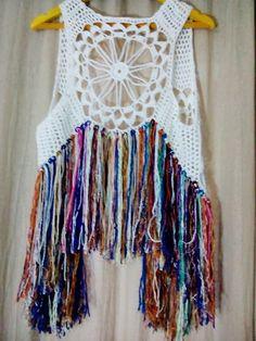 Chaleco a Crochet 0