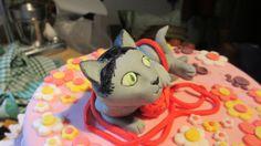 Es mi cuarto trabajo de modelaje y para esta ocasión se realizó un gato el cual simbolizaba algo especial para la compañera.