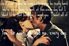 The notebook :) I love Nicholas Sparks. He writes the best Love stories. Cute Quotes, Great Quotes, Quotes To Live By, Funny Quotes, Inspirational Quotes, Film Quotes, Random Quotes, Meaningful Quotes, All You Need Is Love