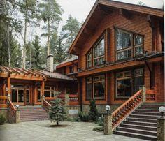 Дом из бруса - модно, тепло, уютно