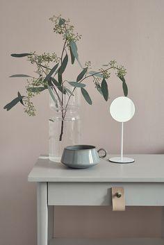 soft colour combo in pink and grey... Styling Susanna Vento, photo Riikka Kantinkoski, customer Tikkurila