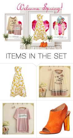 """Welcome Spring"" by anawinchester ❤ liked on Polyvore featuring art"