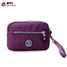 JINQIAOER Brand Women Handbag With Wristlets Waterproof Nylon Day Clutches  Bag Sunglasses Coin Holder Pouch Mini Bag For Women - TakoFashion - Women s  ... 5e26da5644b19