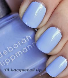 Deborah Lippmann - Let's Hear It For The Boy... If I painted my nails, they would be this color.