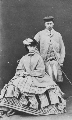 Albert Edward, Prince of Wales and Alexandra, Princess of Wales at Balmoral, 1863 | Royal Collection Trust