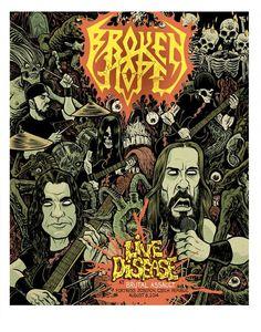 BROKEN HOPE: live concert blu-ray/ live album trailer unveiled!