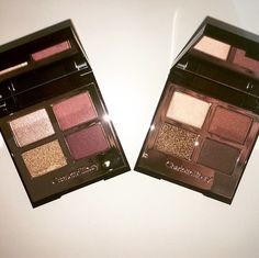 the quad on the right (dolce vita) is my go to  such beautiful shadows and the consistency is to die for -x