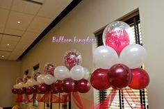 Cloud nine balloon backdrop