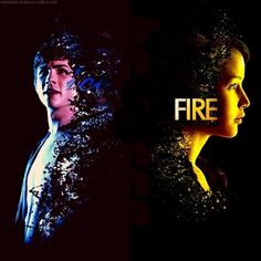 Percy Jackson / Katniss Everdeen / Hunger Games / Ice / Fire / Girl On Fire