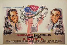 Lady L 1966 Belgian Poster