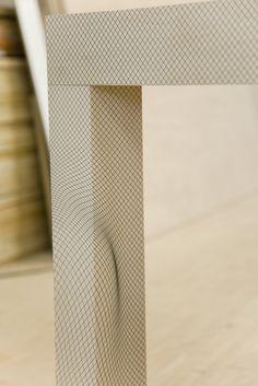 Table et mouvement collection Illusion par Pieke Bergmans