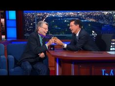 Stephen King channels Flavor Flav on Late Show with Stephen Colbert | EW.com