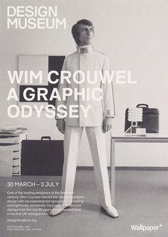 Wim Crouwel Exhibition Poster