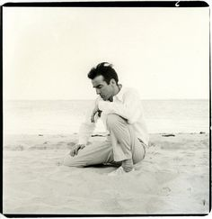Richard Avedon, Montgomery Clift, actor, Montauk, New York, 1958