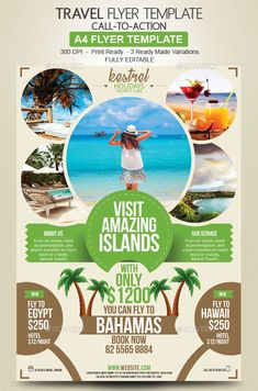 Outstanding Travel Agency Flyer Design for you to advertise your holidays deals. Browse these awesome flyer templates. Marketing flyers for Travel Agencies. Travel Ads, Travel Tours, Free Travel, Travel And Tourism, Travel Agency, Travel Posters, Travel Logo, Travel Luggage, Travel Quotes