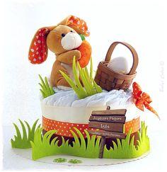 Gateau de couches Bunny cake