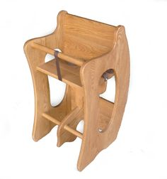 Beautiful 3-1 Amish made highchair. Also turns into a desk and a rocking horse!