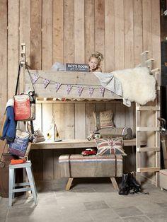 Hoogslaper Bureau + Trappetje Bedroom Accessories, Kids Sleep, Kid Beds, Kids Room, Houses, Living Room, Children, Boys, Furniture