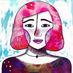 Retrato en movimiento 🙊💖 Feliz fin de semana 🌷en mi Facebook hay otro retrato en movimiento 🙌 #Anuluz #Anuluz #illustration #ilustración #art #artwork #painting #contrast #vibrant #colorful #gallery #illustrator #illustrationartists #artists #portrait #instagood #instadraw #sketch #sketchbook #cute #venezuela #drawing #drawingoftheday #handmade #girl #scribble #doodleoftheday #randomscribble #inspirar #inspiracion