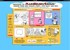 Create Educational Comic Tales on iPad Using The Free Make Beliefs Comix App ~ Educational Technology and Mobile Learning