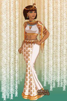 Sahara by zoraravenwood created using the neptune s daughter doll